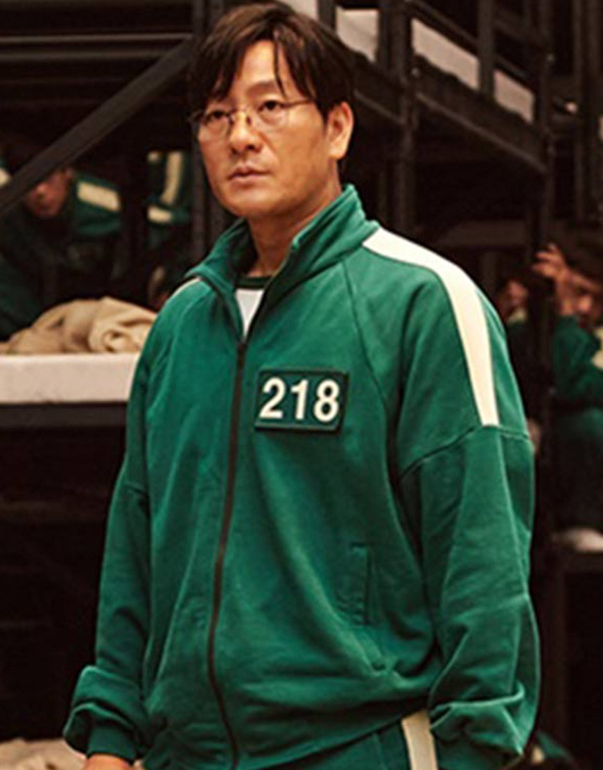 Squid Game 2021 Participant Green Bomber Jacket