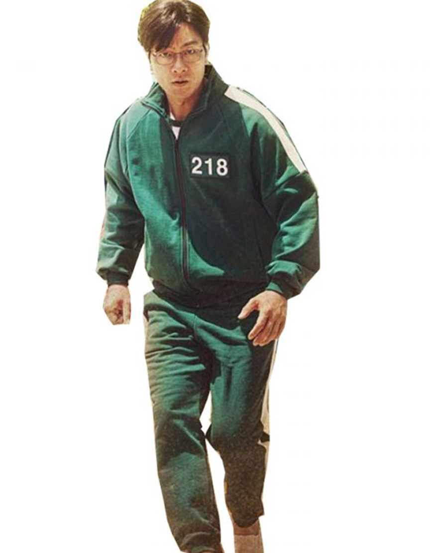 TV-Series Squid Game 2021 Participants Green Tracksuit