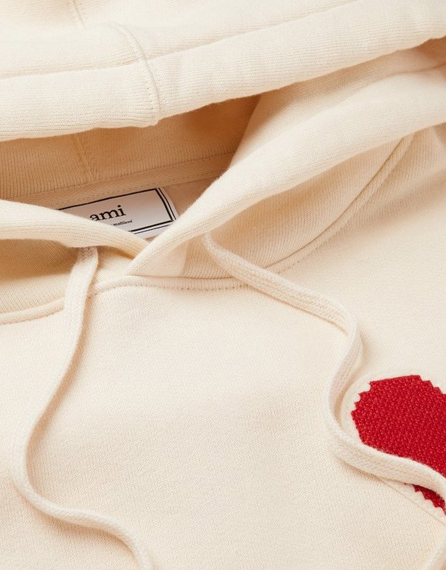 Ted Lasso Keeley White & Red Heart Hoodie