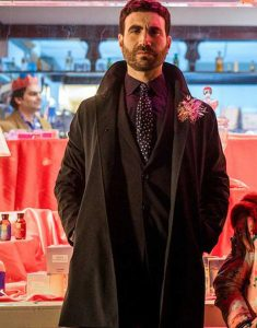 Ted Lasso S02 Brett Goldstein Black Coat