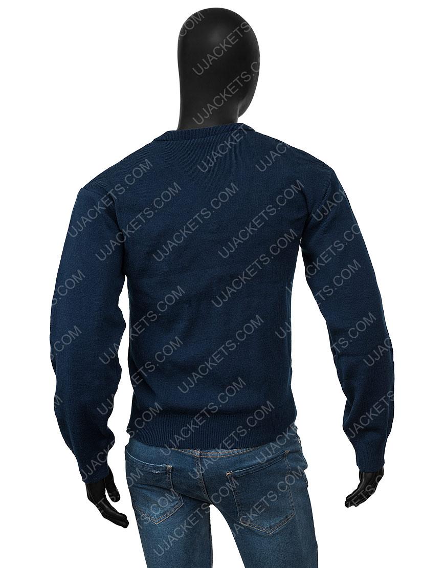 Ted Lasso S02 Jason Sudeikis Blue Sweater