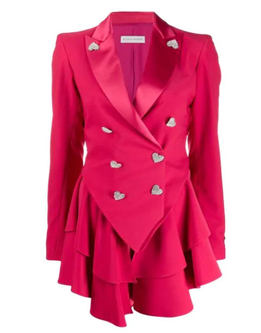 Ted Lasso S02 Juno Temple Pink Blazer