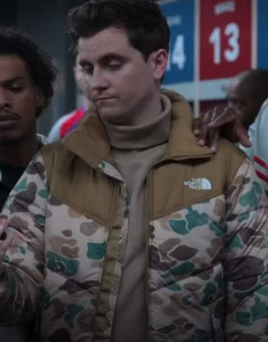 Ted Lasso S02 Stephen Manas Puffer Jacket