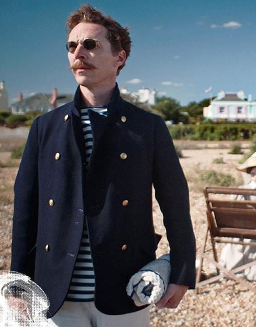 The Electrical Life Of Louis Wain 2021 Benedict Cumberbatch Blue Blazer