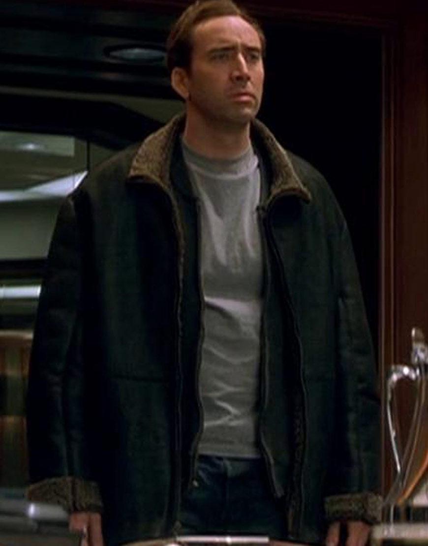 The Family Man Nicolas Cage Black Jacket