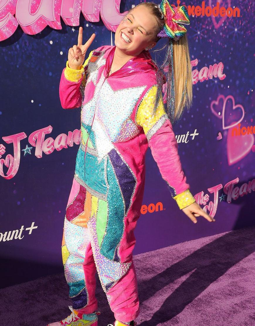 The J Team 2021 Jojo Siwa Multi-Color Jumpsuit