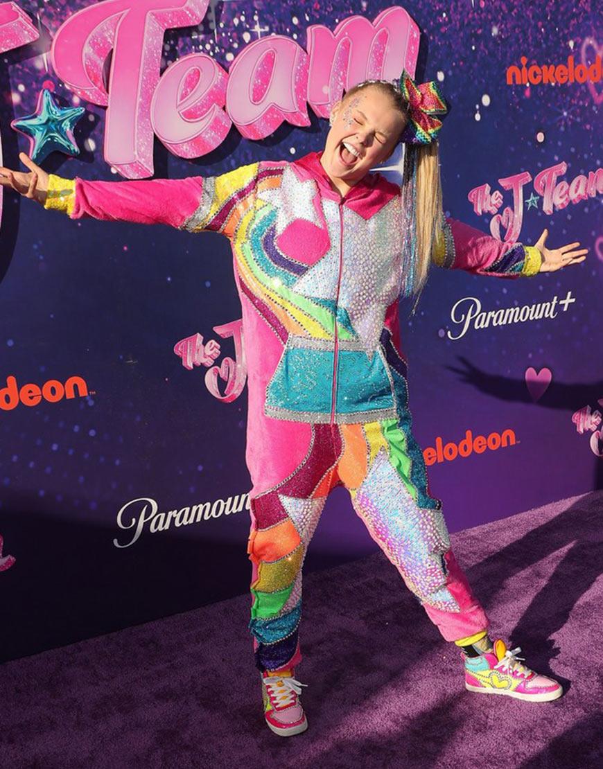 The J Team Jojo Siwa Pink Jumpsuit