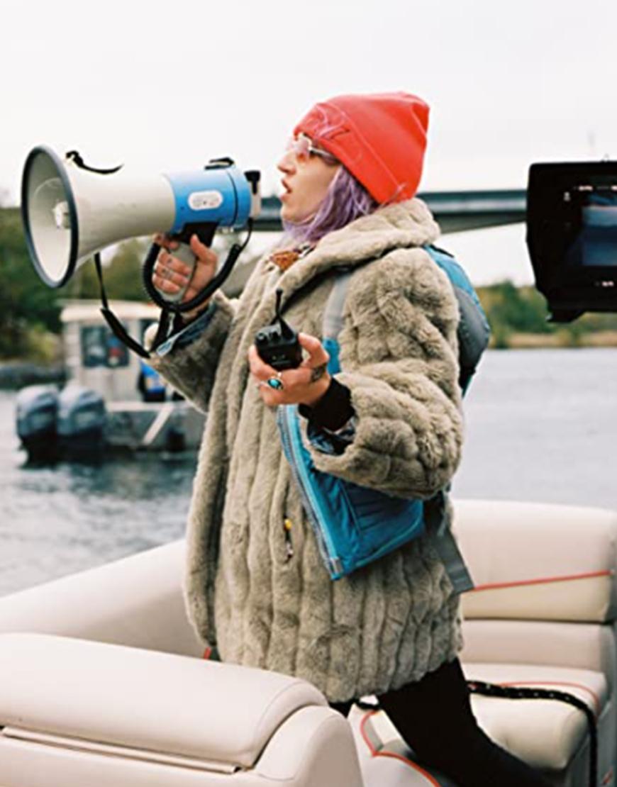 The Novice 2021 Lauren Hadaway Fur Coat