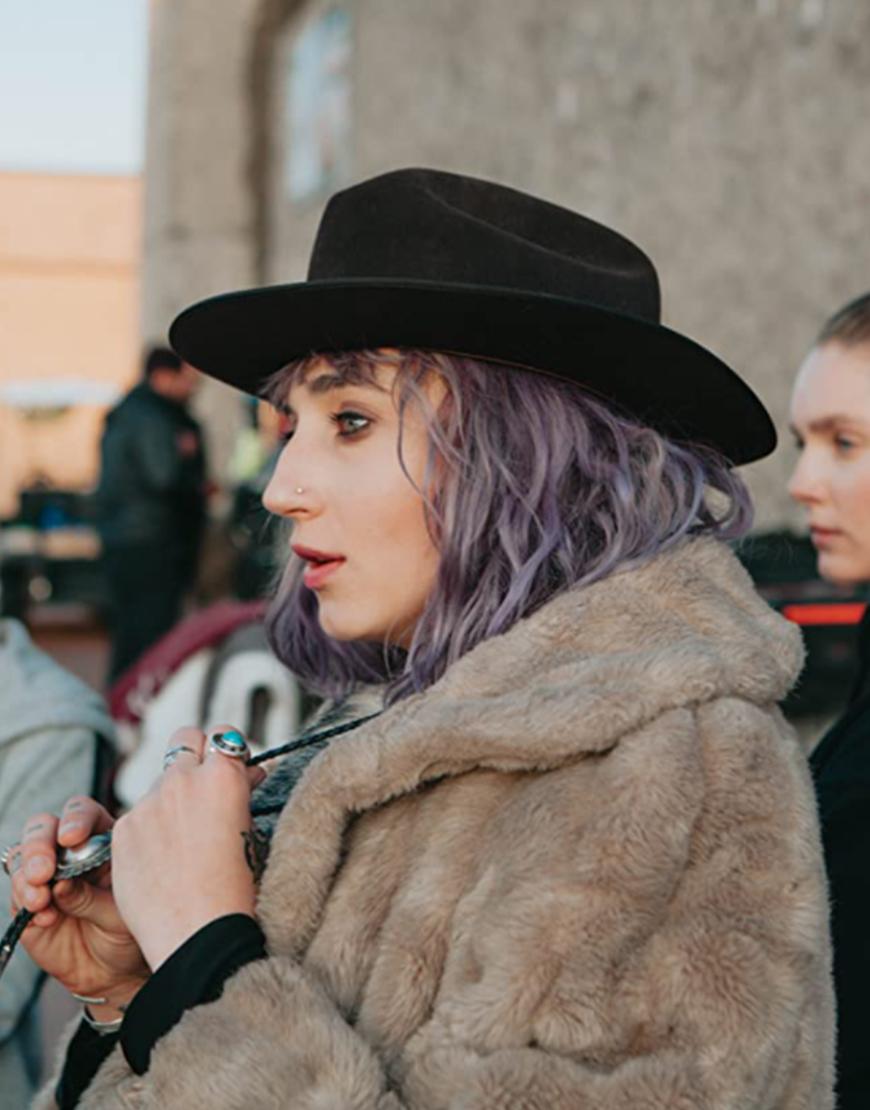 The Novice 2021 Lauren Hadaway Shearling Coat