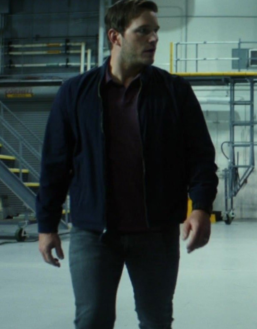 The Tomorrow War 2021 Chris Pratt Jacket