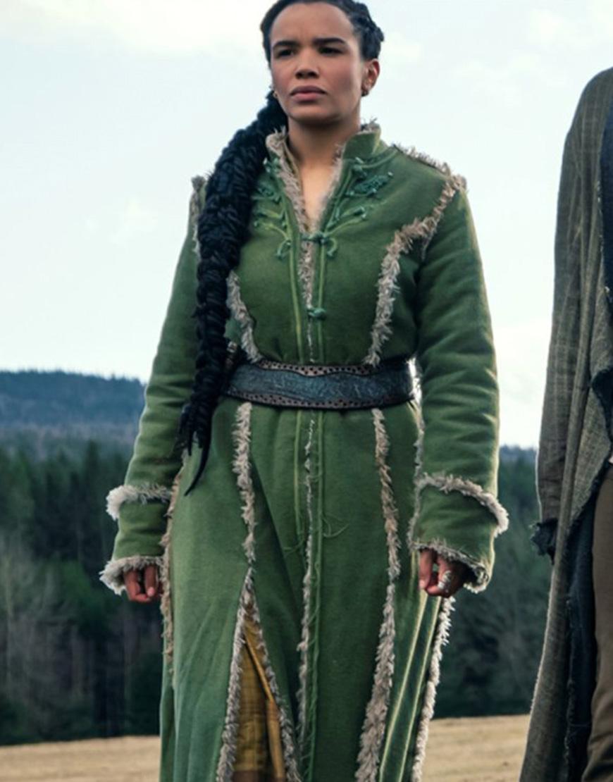 The Wheel Of Time 2021 Zoë Robins Green Coat