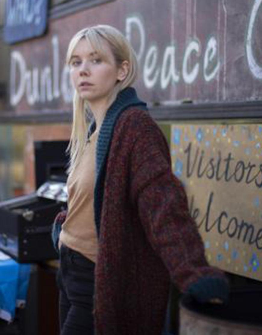 Vigil 2021 Lauren Lyle Oversized Woolen Cardigan