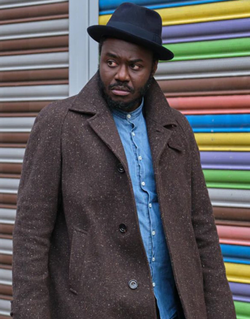 Wolfe 2021 Babou Ceesay Trench Coat