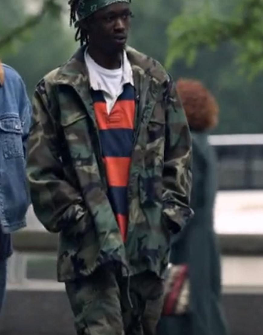 Wu-Tang An American Saga S02 Ashton Sanders Zip Camo Jacket