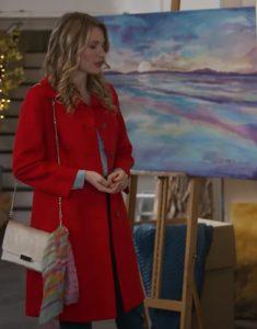 A Bridesmaid In Love 2021 Tori Anderson Red Coat