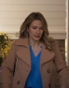 A Bridesmaid In Love 2021 Tori Anderson Trench Coat