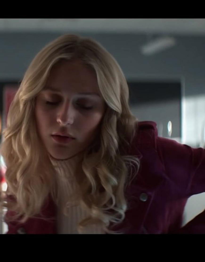 Alyvia Alyn Lind TV-Series Chucky 2021 Lexy Taylor Pink Jacket