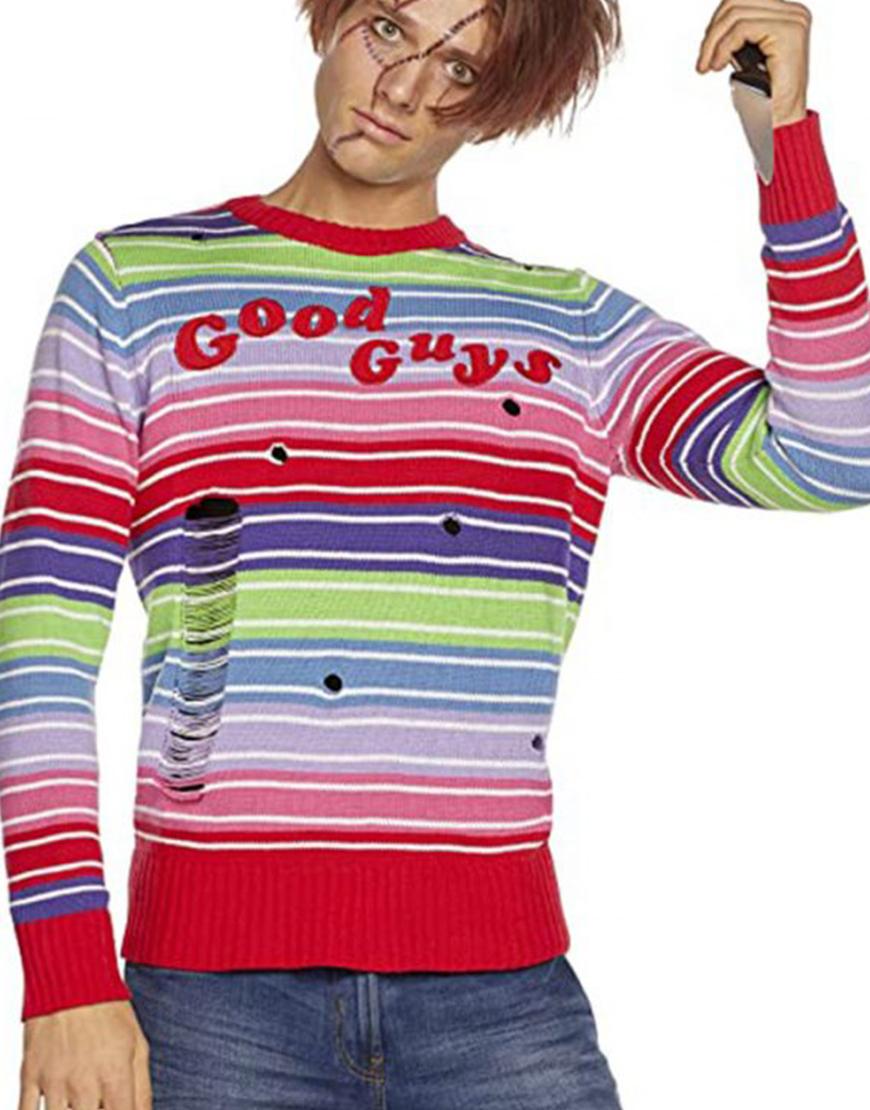 Child's Play Chucky Good Guys Sweater