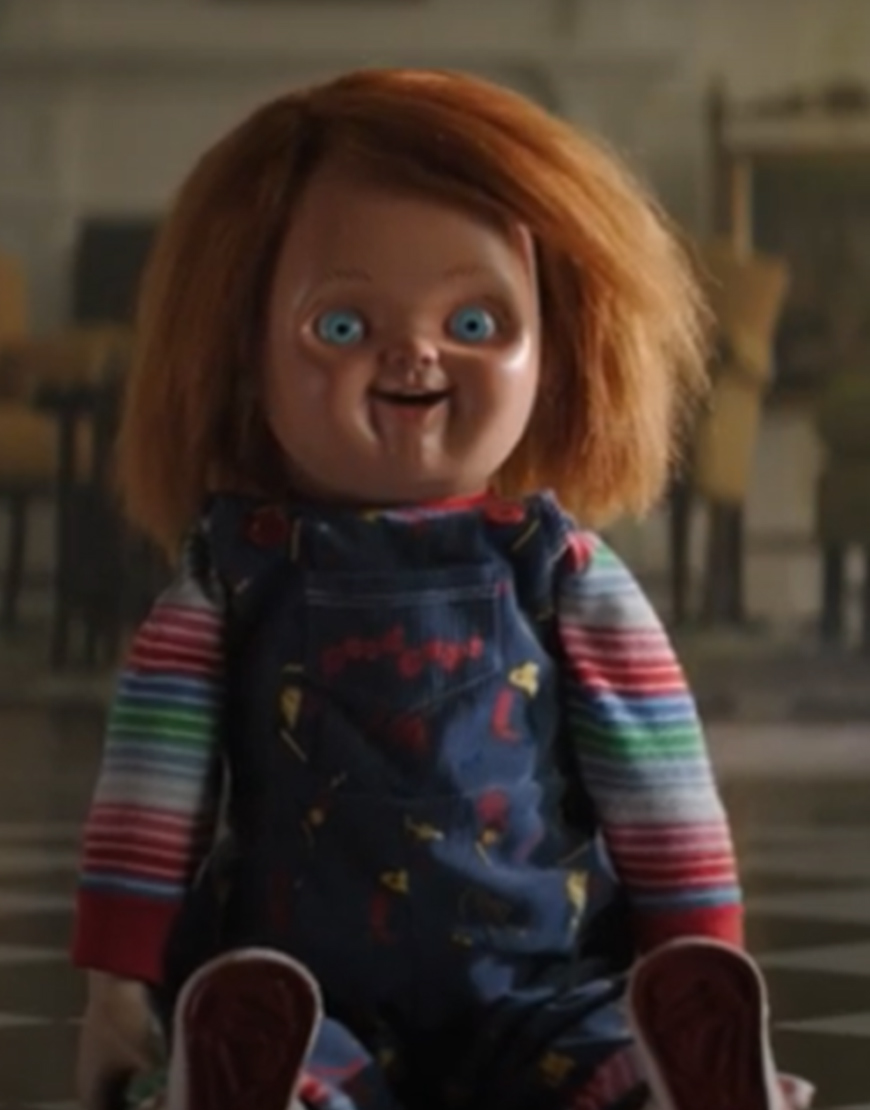 Chucky 2021 Blue Romper