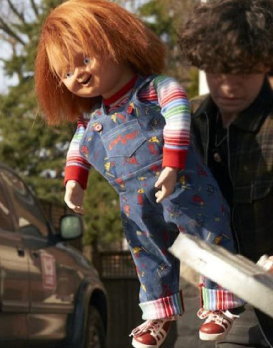 Chucky 2021 Doll Blue Printed Romper