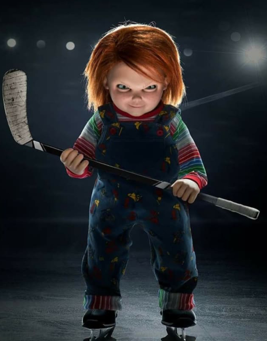 Chucky 2021 Doll Blue Romper