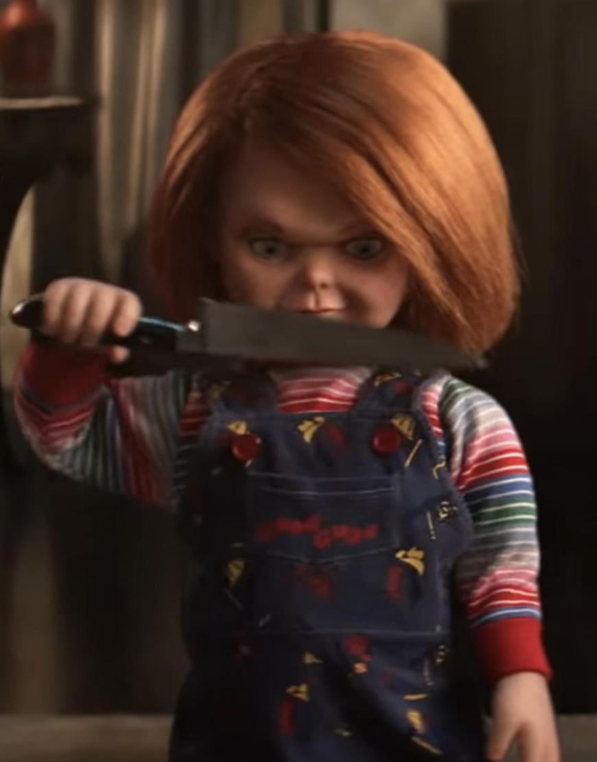 Chucky Doll Blue Romper