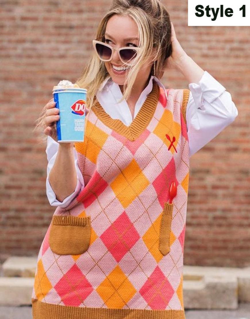 Dairy Queen Sweater Vest 1