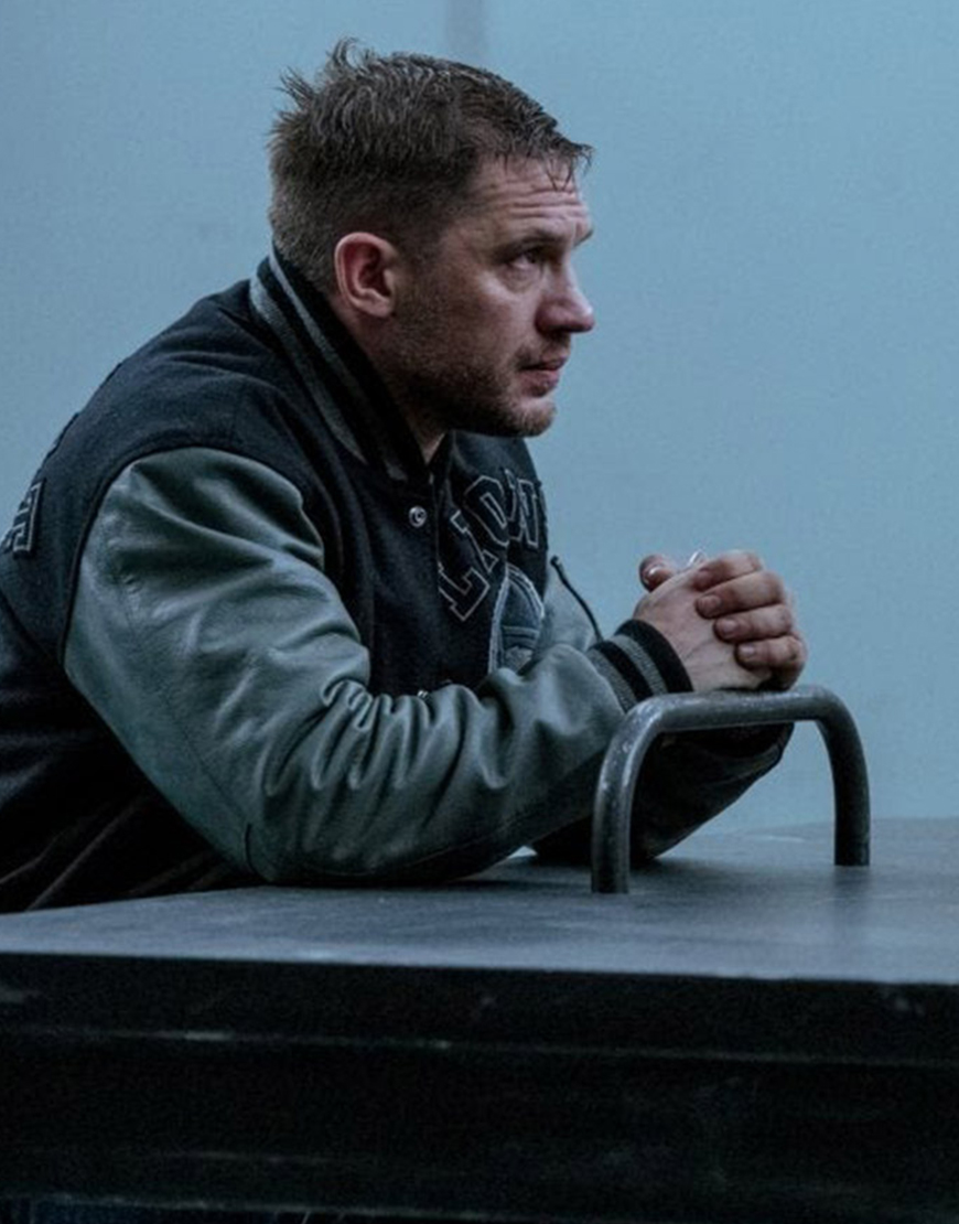 Eddie Brock Venom 2 Let There Be Carnage Tom Hardy Detroit Lions Jacket