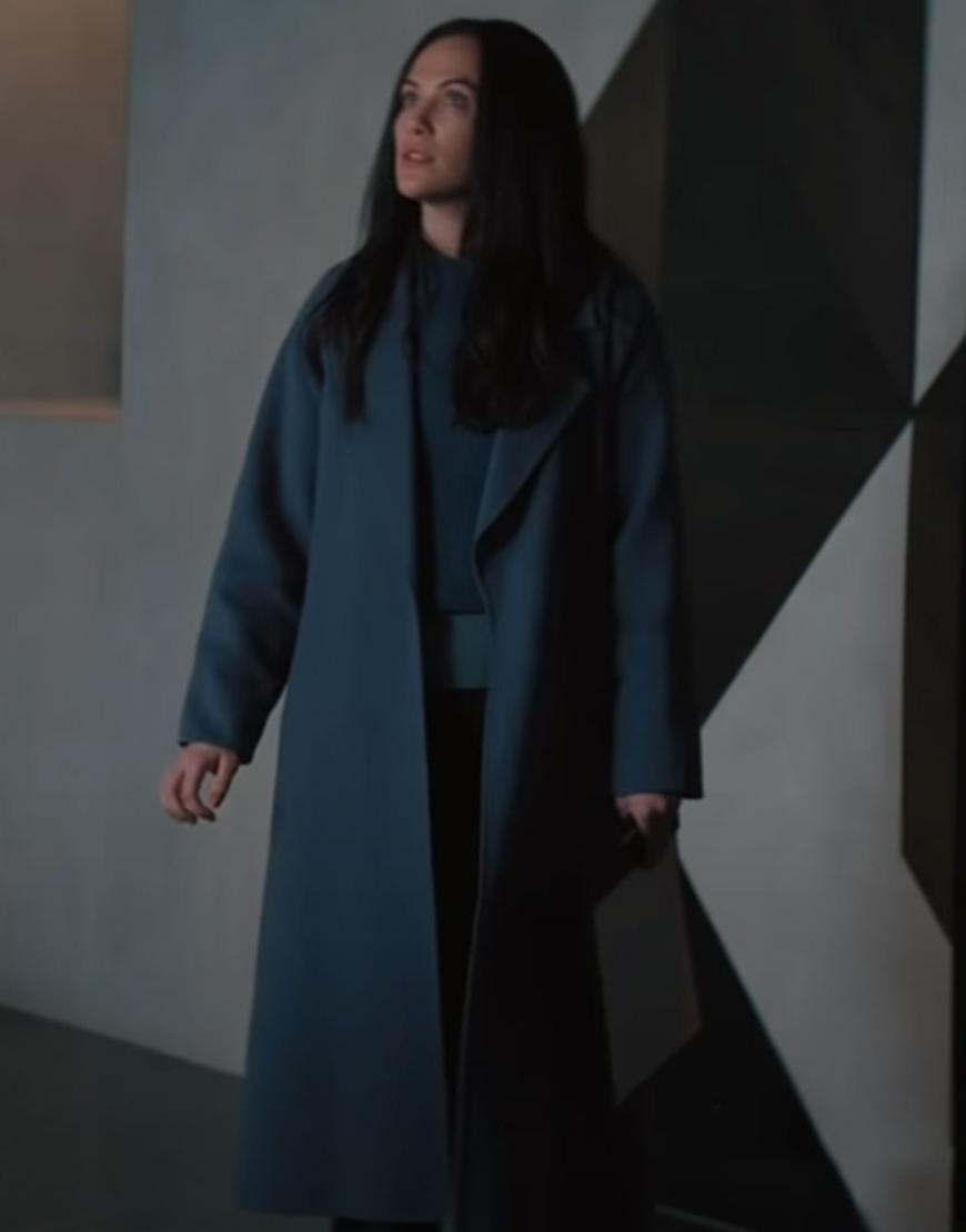 Hypnotic 2021 Kate Siegel Grey Trench Coat