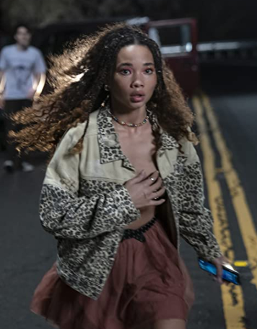 I Know What You Did Last Summer 2021 Ashley Moore Leopard Jacket