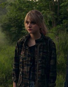 Locke & Key S02 Emilia Jones Camouflage Jacket