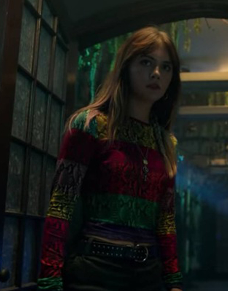Locke & Key S02 Emilia Jones Color Block Shirt