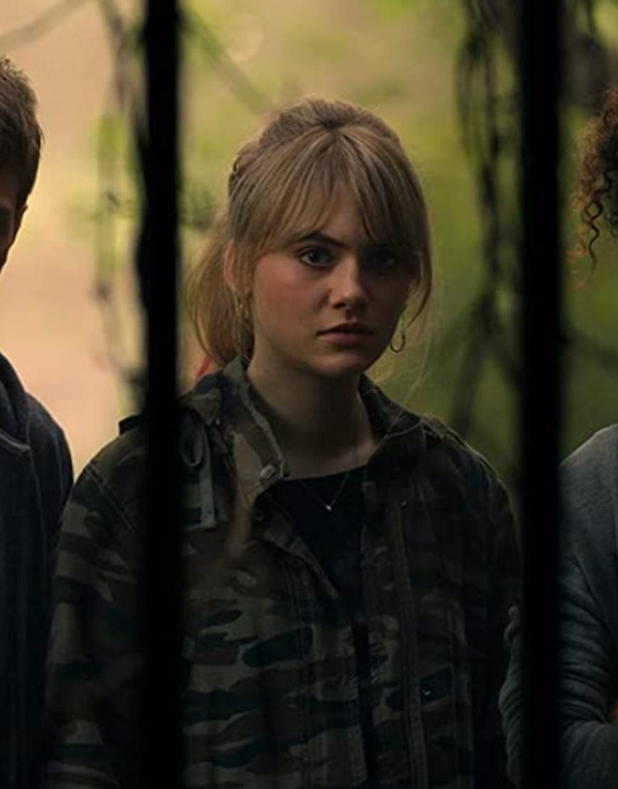Locke & Key S02 Emilia Jones Military Camouflage Jacket
