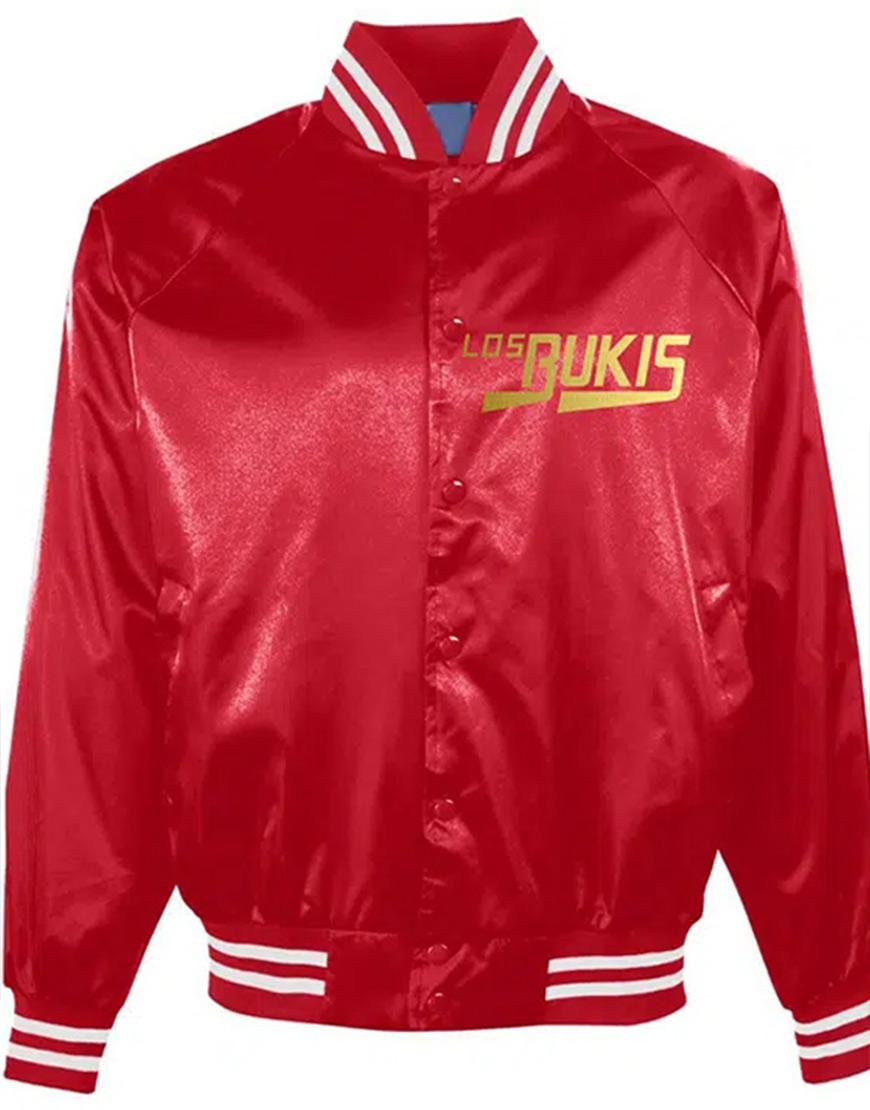 Los Bukis Red Bomber Jacket