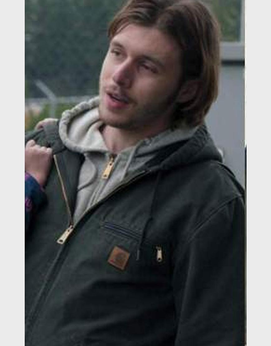 Maid 2021 Nick Robinson Hooded Jacket
