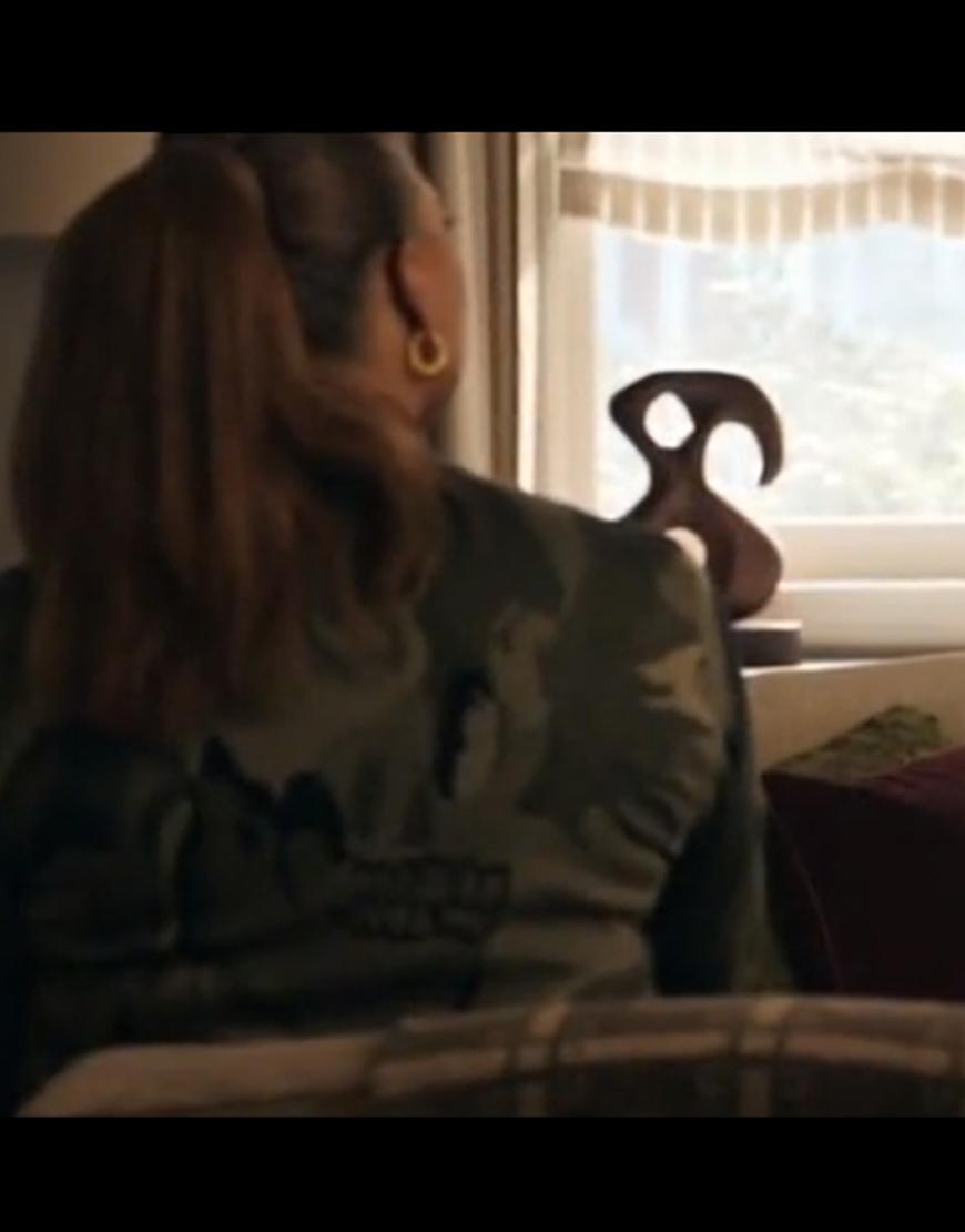 Queen Latifah The Equalizer S02 Robyn McCall Camo Skull Sweatshirt