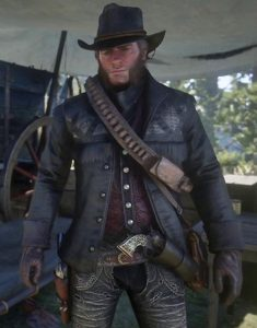 Red Dead Redemption II Nuevo Paraíso Gunslinger Leather Jacket