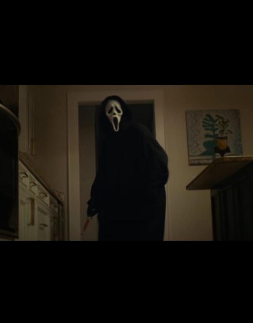 Scream 2022 Ghost Hooded Coat