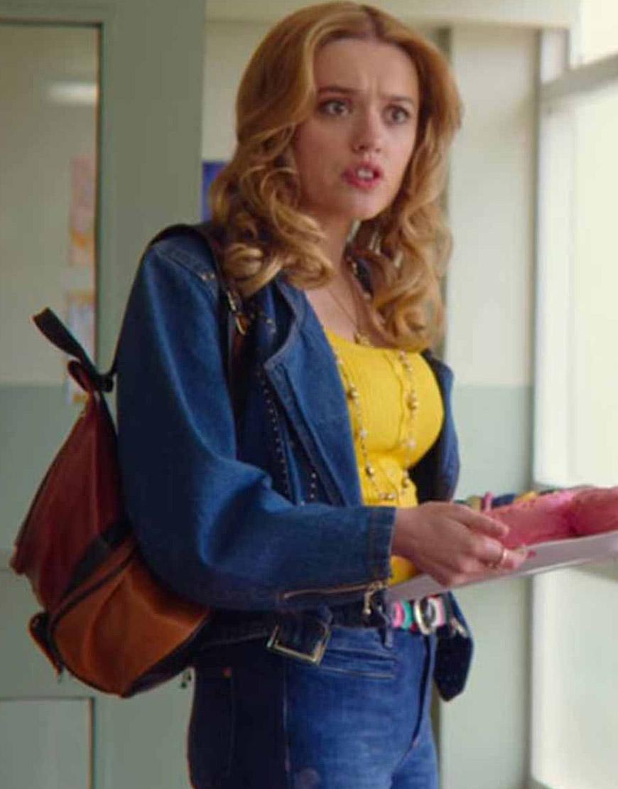 Sex Education S02 Aimee Lou Wood Denim Jacket