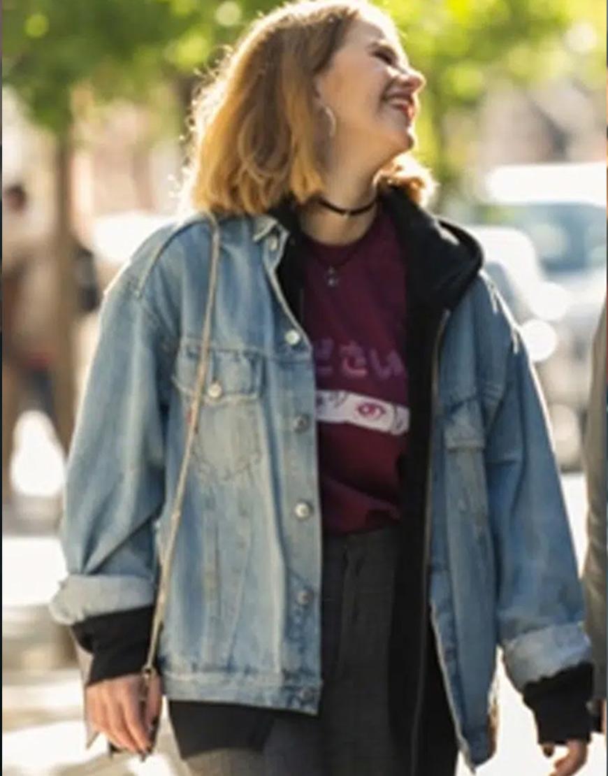 Sounds Like Love 2021 Elisabet Casanovas Denim Jacket