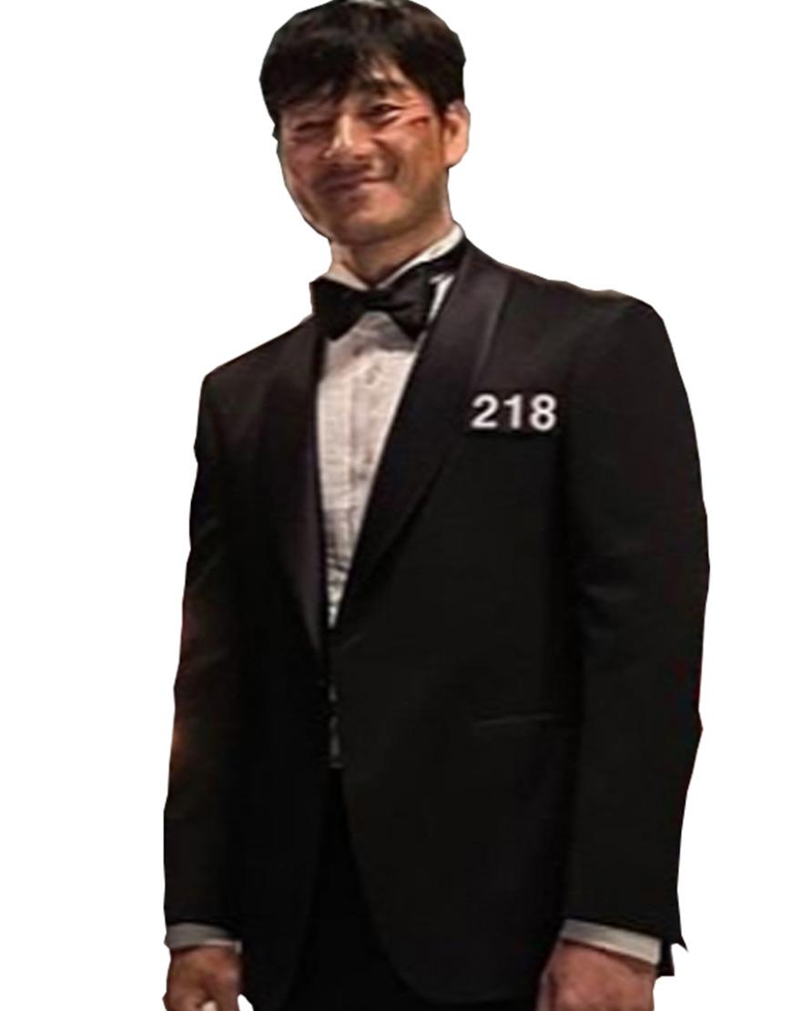 Squid Game 2021 Final Game Black Tuxedo