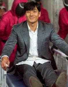 Squid Game 2021 Hae-Soo Park Blazer