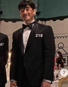 Squid Game Final Game Black Tuxedo Suit