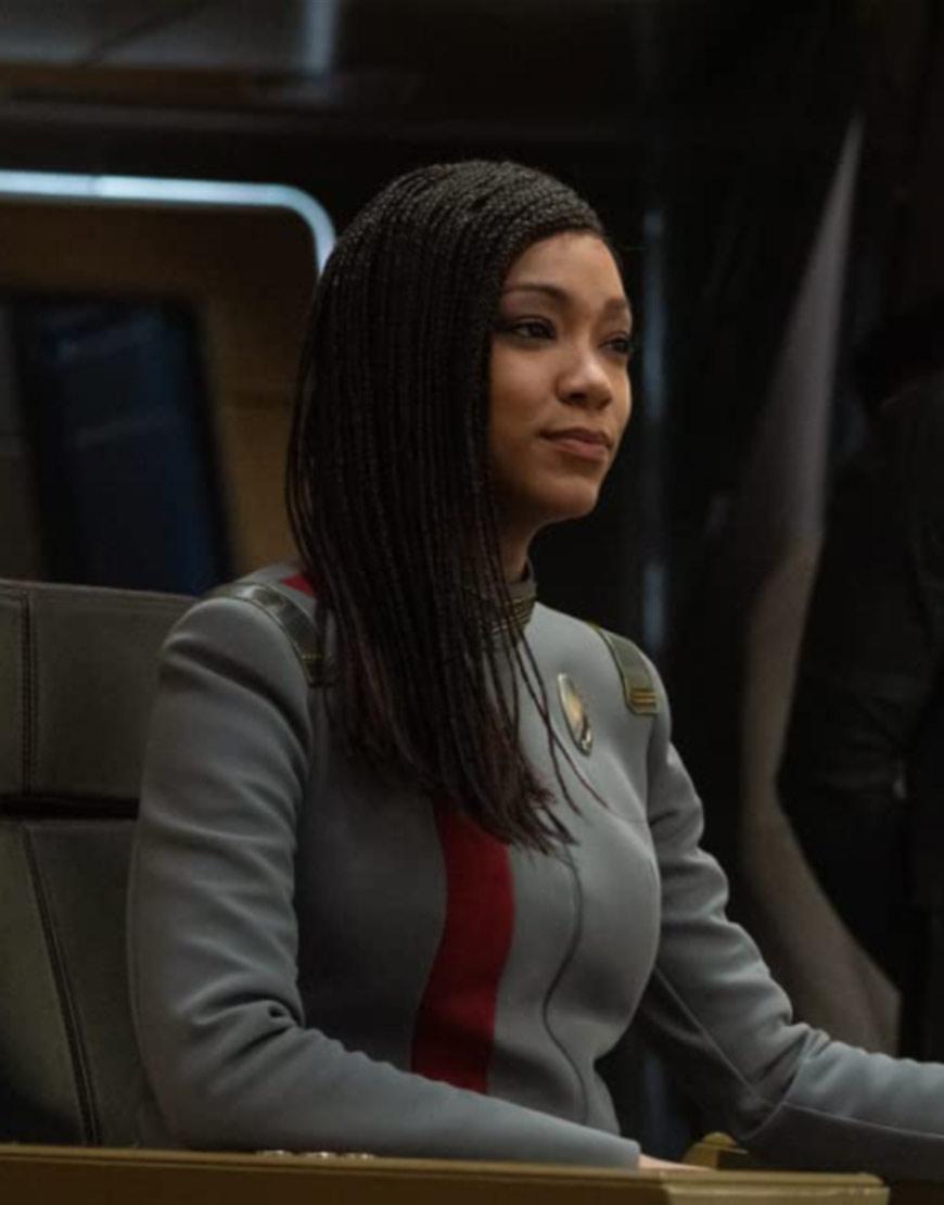 Star Trek Discovery S04 Sonequa Grey Jacket