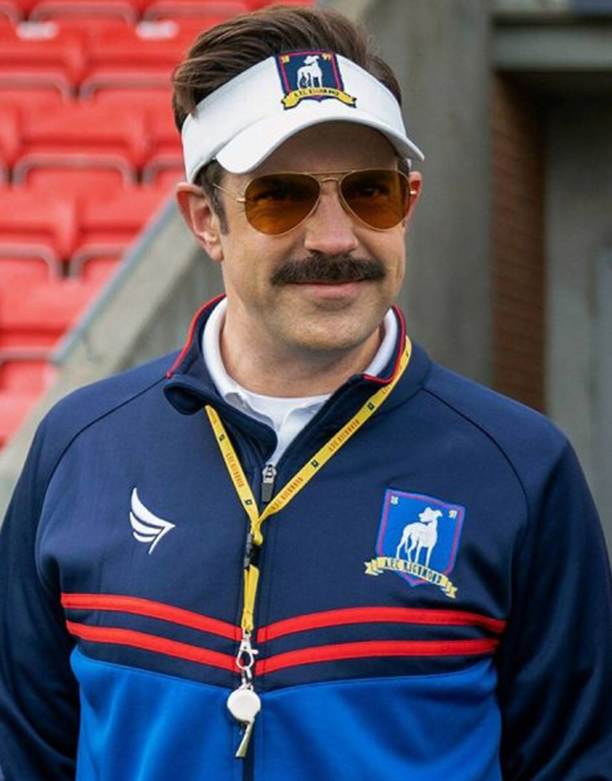 Ted Lasso Jason Sudeikis Coach Visor Cap