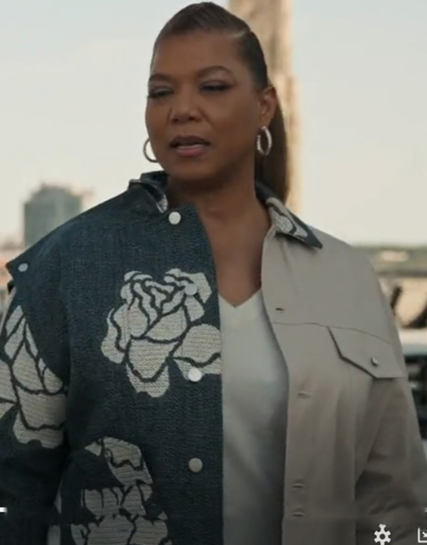 The Equalizer Queen Latifah Two-Color Jacket