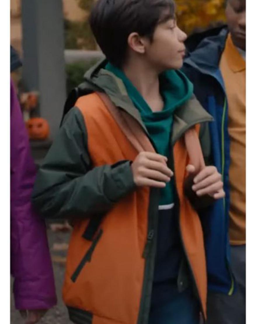 Under Wraps Malachi Barton Orange Jacket