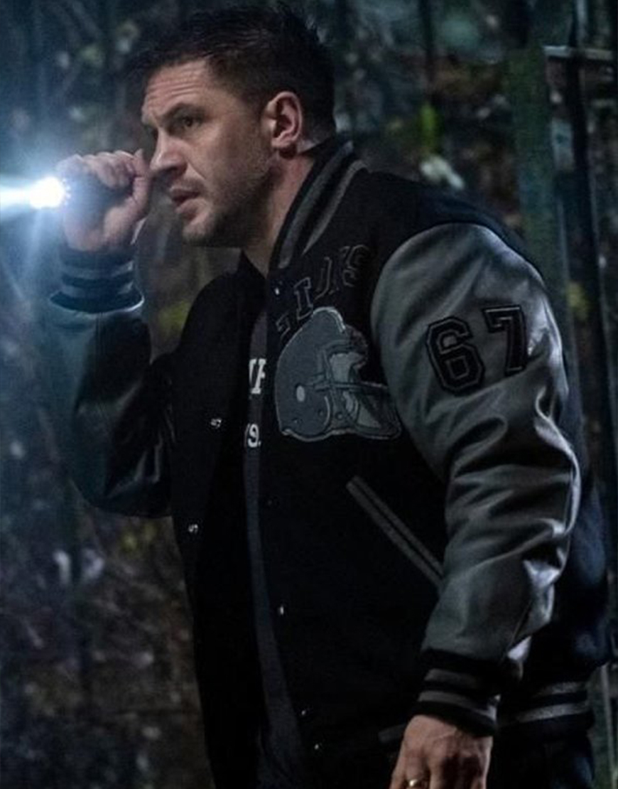 Venom Let There Be Carnage Tom Hardy Detroit Lions Jacket